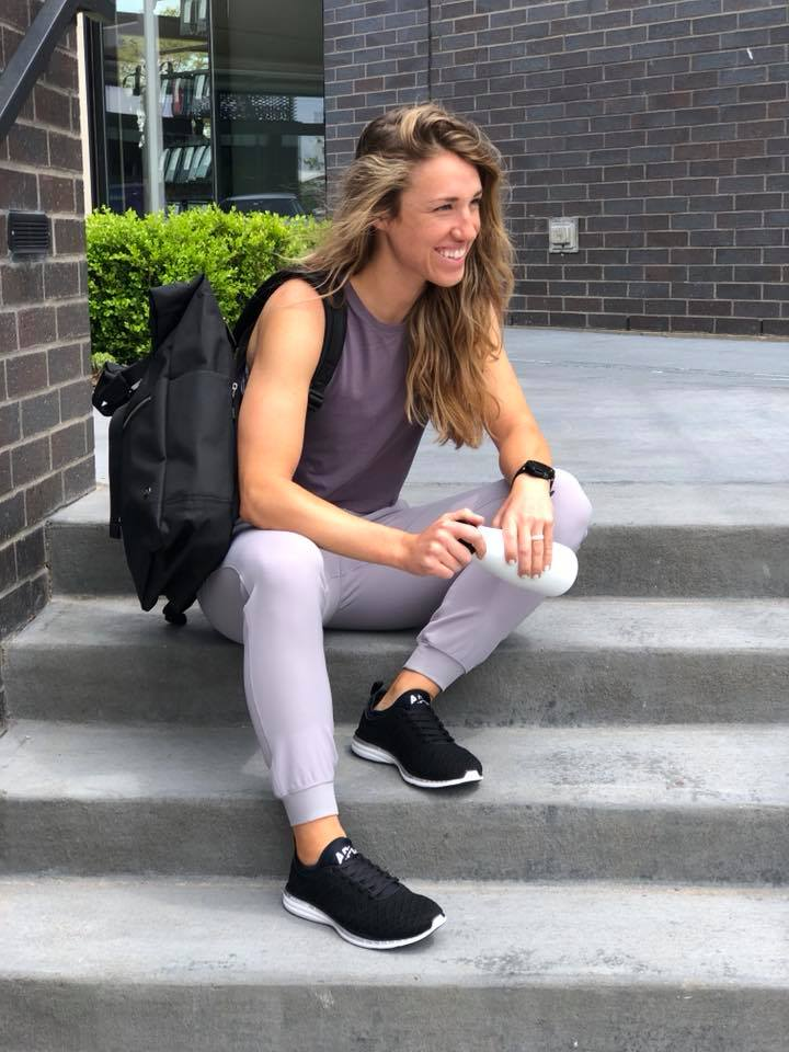 On The Fly Jogger, Cut Back Tank, APL Sneakers