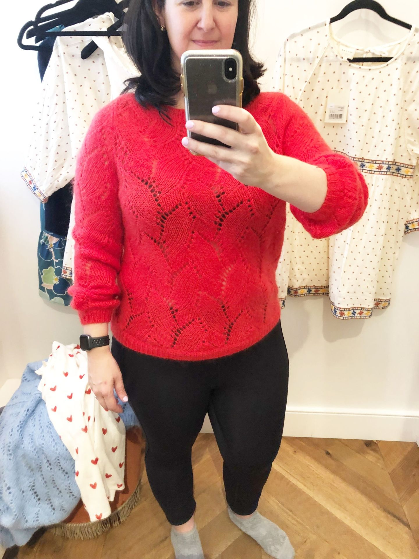 Sezane Try-Ons, Avril Jumper