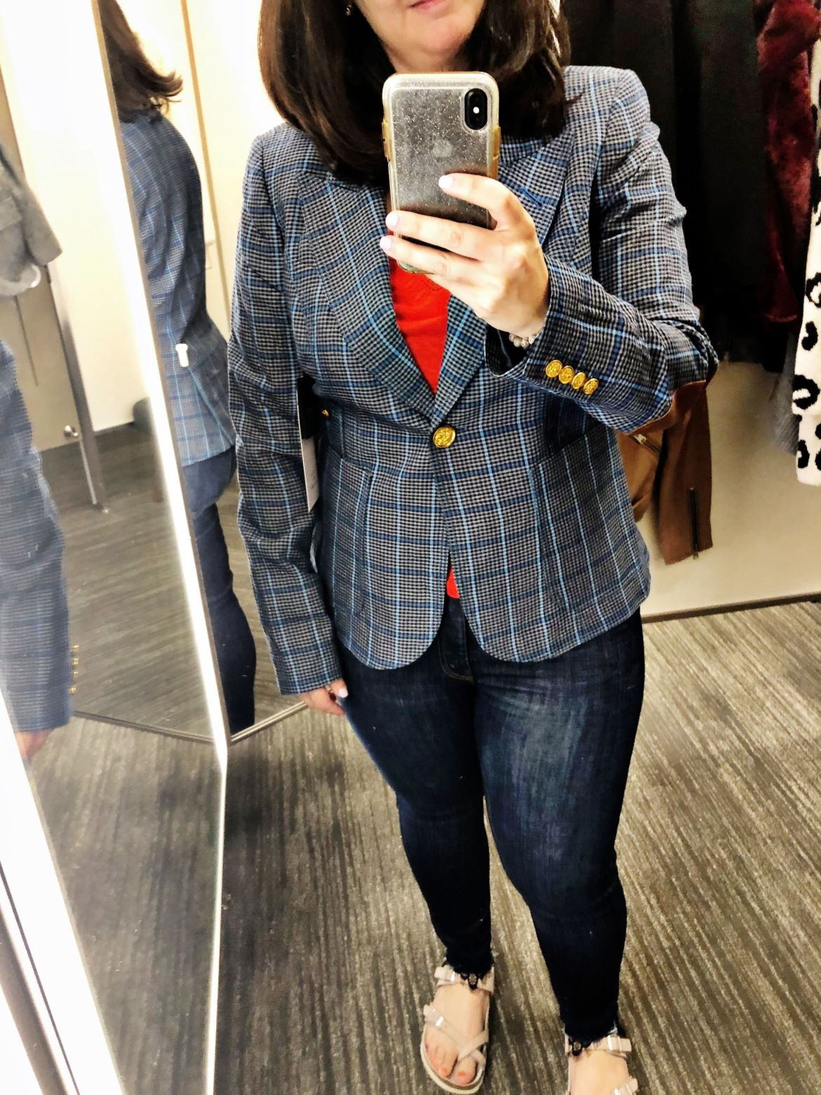 Anniversary Sale Dressing Room Try-Ons | Smythe Blazer, Smythe Duchess Blazer