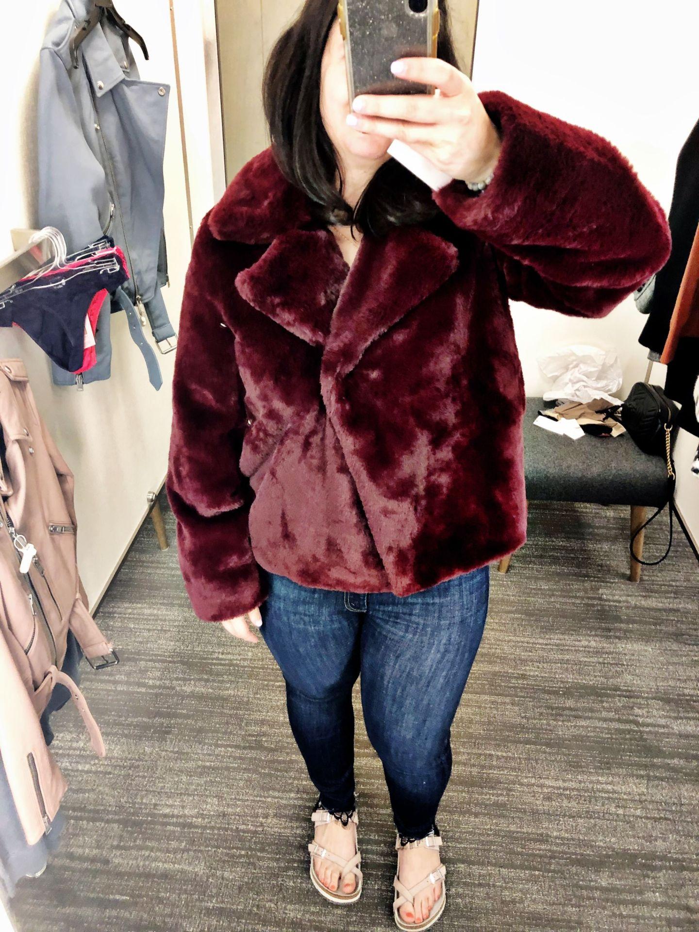Frame Short Faux Fur Coat | Anniversary Sale 2019 | Nordstrom Anniversary Sale Canada