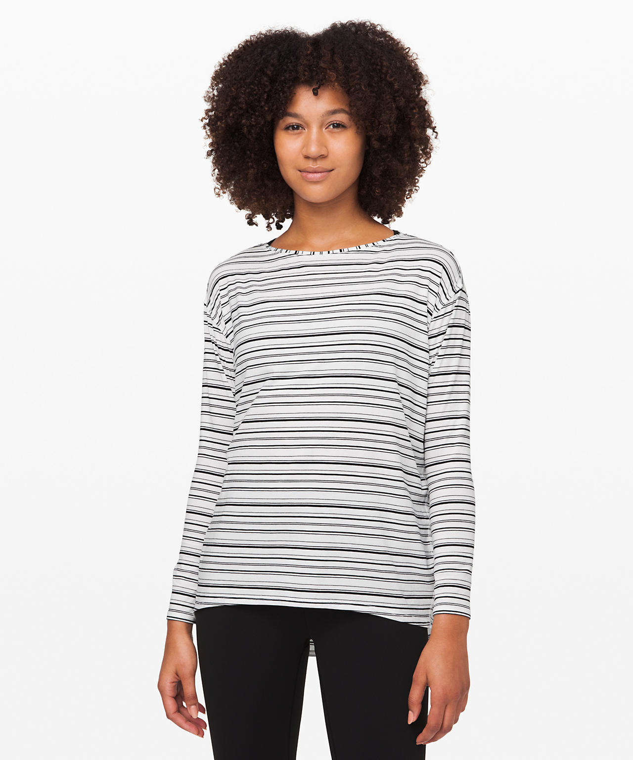 Lululemon Upload, Back In Action Long Sleeve