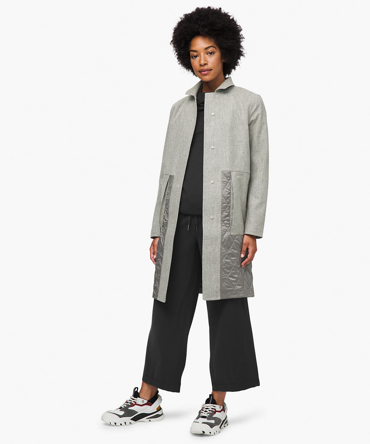 Roam Far Wool Coat, Shop The Lululemon Upload