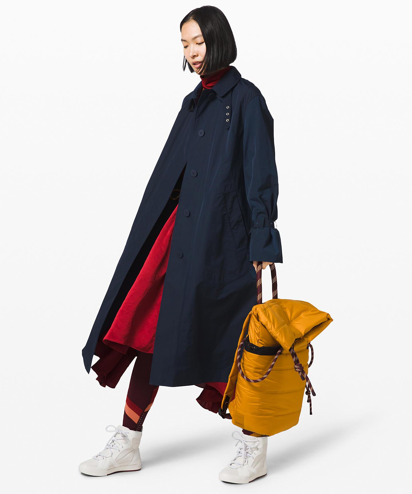 Lululemon x Roksanda Part 2 trench coat