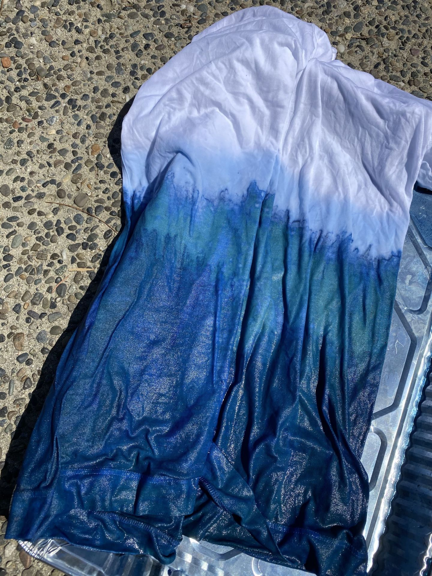 Fun With Natural Indigo Shibori Tie Dying During Shelter In Place