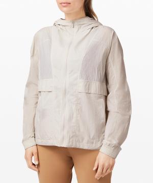 Hood Lite Packable Jacket Dune