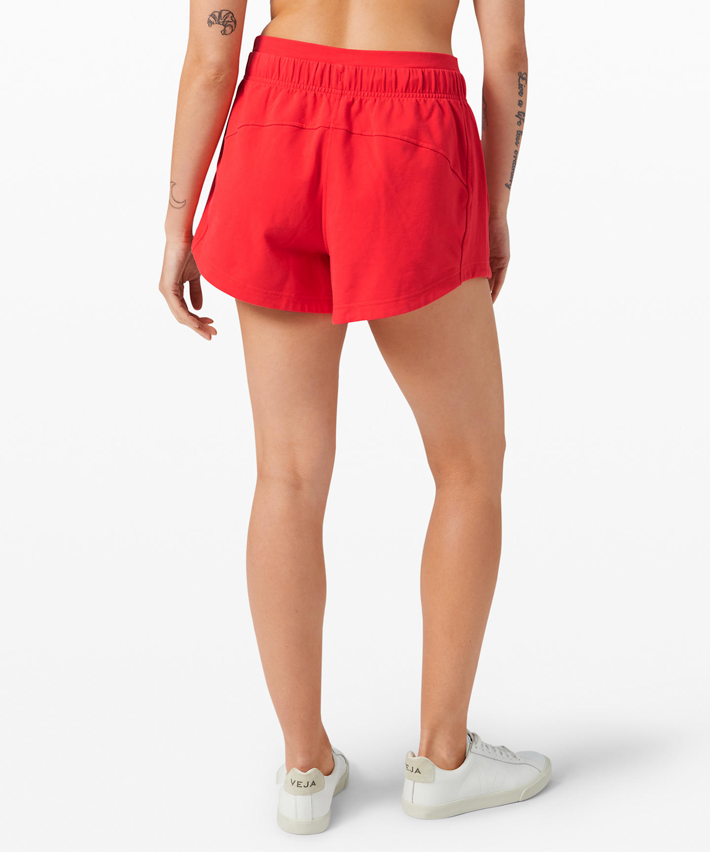Inner Glow Short 3 Terry _Carnation Red