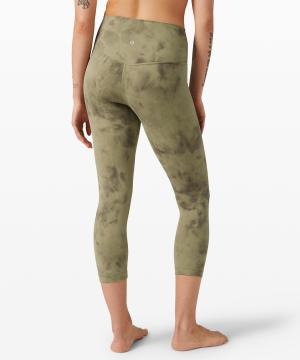 Align pant Diamond Dye Vista Green Medium Olive 2