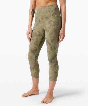 Align pant Diamond Dye Vista Green Medium Olive