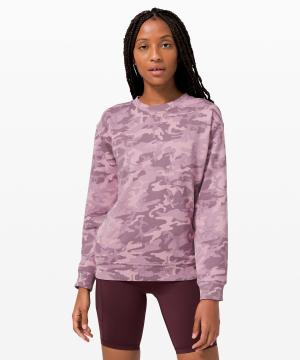 All Yours Crew Terry_Incognito Camo Pink Taupe Multi