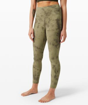 Lululemon Align Pant II Diamond Dye Vista Green Medium Olive