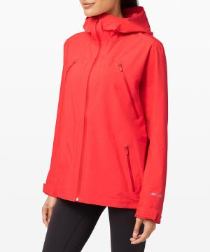 Storm Brewing Jacket_carnation red