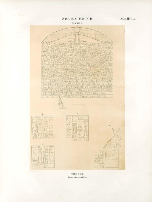 Denkmäler aus Ägypten und Äthiopien (Karl Richard Lepsius) Dyn XVII