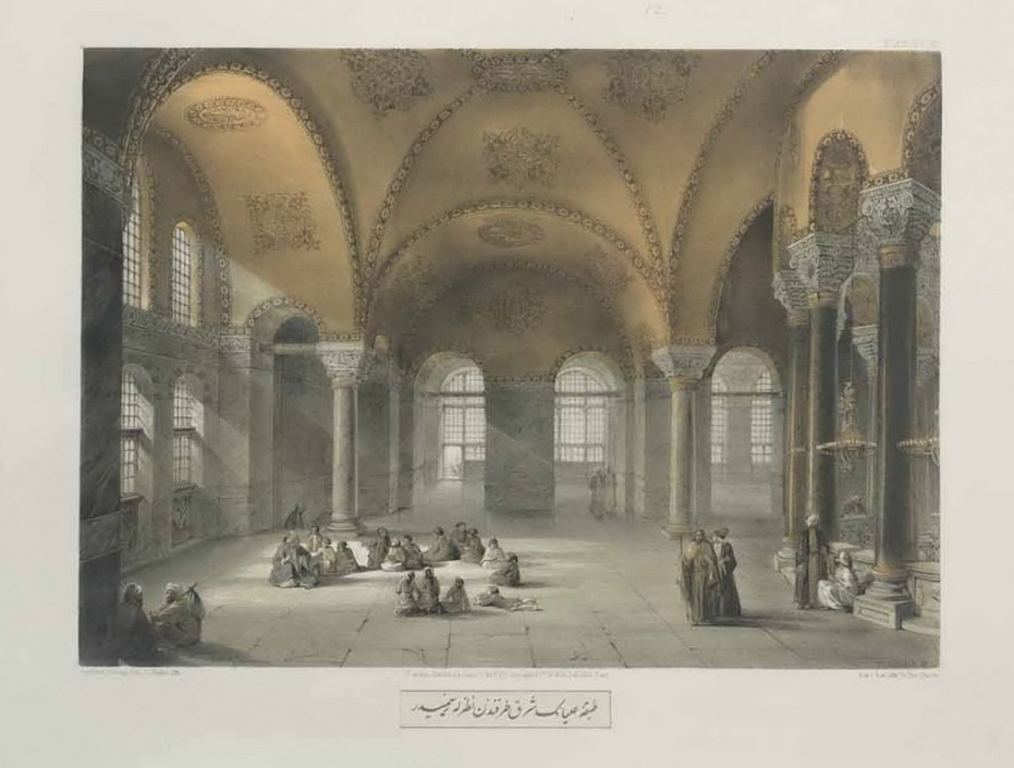 Gaspare Fossati - Aya Sofia of Constantinople - London (1852) - 019