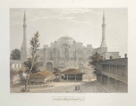 Gaspare Fossati - Aya Sofia of Constantinople - London (1852) - 023
