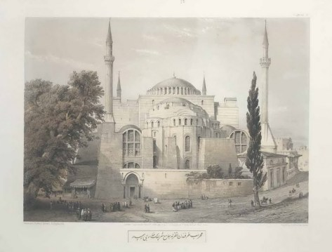 Gaspare Fossati - Aya Sofia of Constantinople - London (1852) - 025