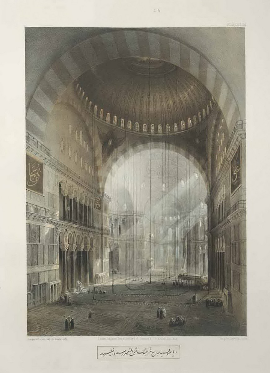Gaspare Fossati - Aya Sofia of Constantinople - London (1852) - 031