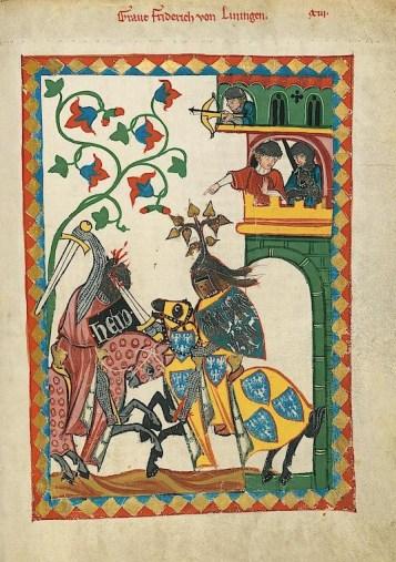 Codex Manesse - page 26r
