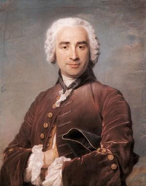 Quentin de la Tour - Portrait d'homme au pastel
