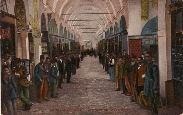 Vieilles cartes postales - Istanbul - 05 - le Grand Bazar