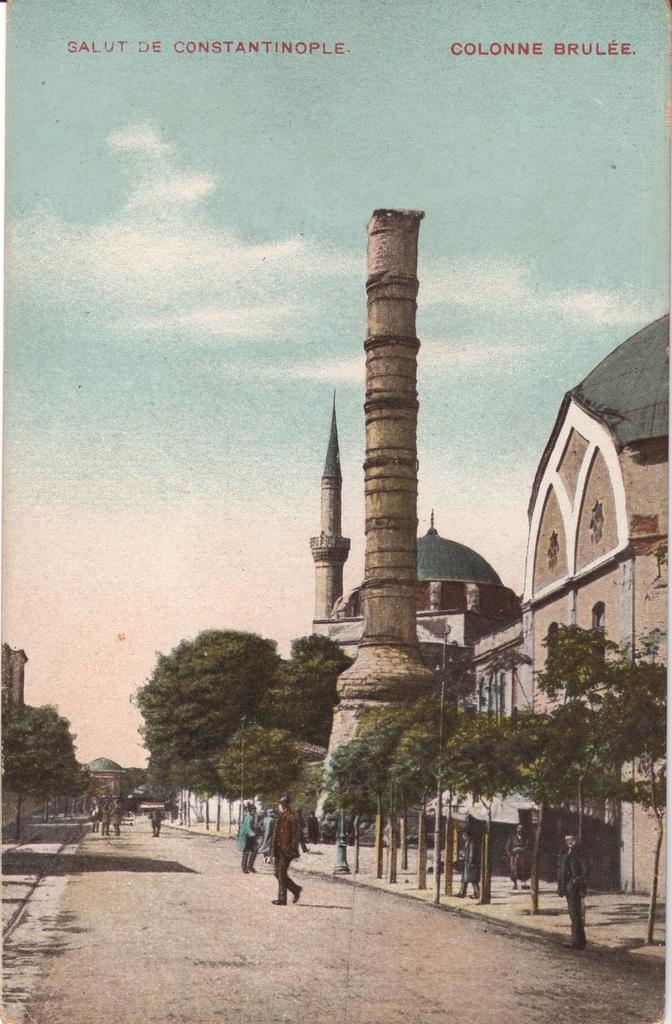 Vieilles cartes postales - Istanbul - 16 - Çemberlitaş