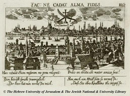 07 - Daniel Meisner - Constantinopel - Sciographia Cosmica - 1638