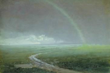 Arkhip Ivanovich Kuindzhi - Arc-en-ciel. 1900. étude