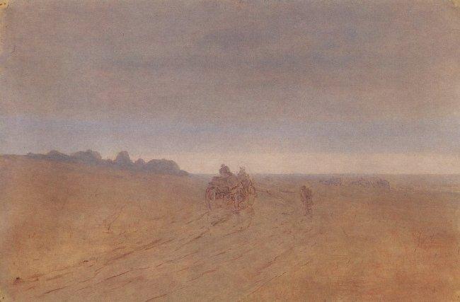Arkhip Ivanovich Kuindzhi - Automne. Brouillard - 1898-1908