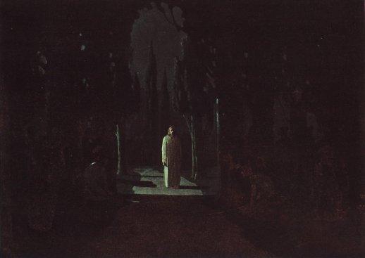Arkhip Ivanovich Kuindzhi - Christ dans le jardin de Gethsémani - 1901