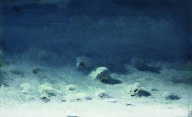 Arkhip Ivanovich Kuindzhi - Clair de lune sur la neige