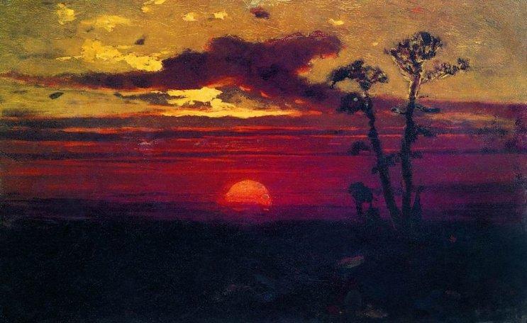 Arkhip Ivanovich Kuindzhi - Coucher de soleil - 1876-1890