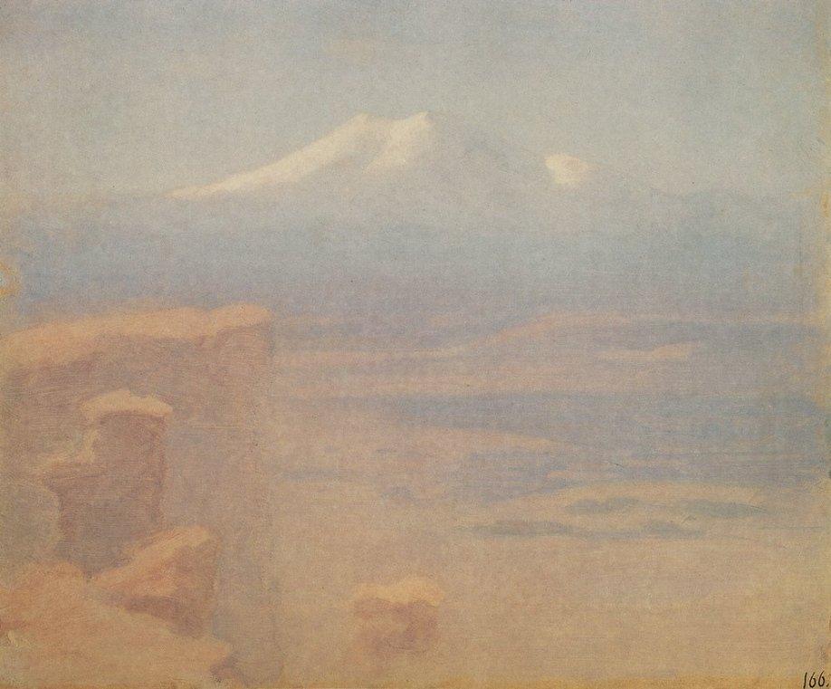 Arkhip Ivanovich Kuindzhi - Elbrouz - 1908