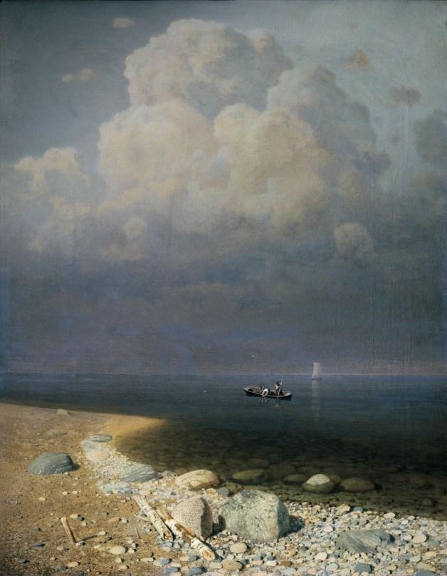 Arkhip Ivanovich Kuindzhi - Lac Ladoga - 1873