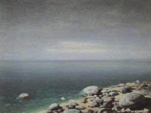 Arkhip Ivanovich Kuindzhi - L'eau limpide. Jour triste. Crimée - 1908