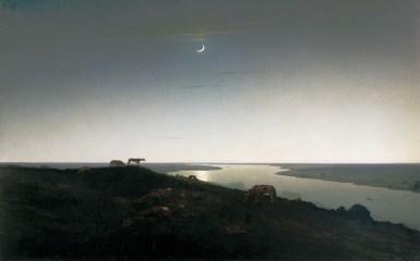 Arkhip Ivanovich Kuindzhi - Nuit - 1905-1908
