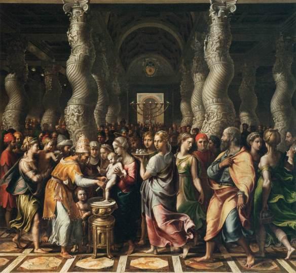Giulio Romano - La circoncision (1499 - 115cm x 122cm)