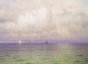 Nikolai Nikanorovich Dubovskoy - Bateaux - 1900