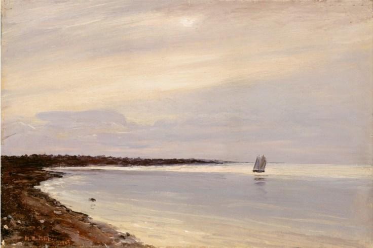 Nikolai Nikanorovich Dubovskoy - Paysage marin - 1903
