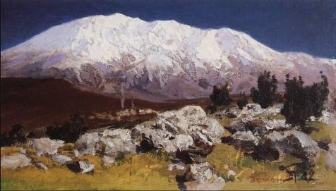 Vasili Dimitrievich Polenov (1844 - 1927) - Au pied du Mont Hermon - 1882