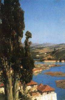 Vasili Dimitrievich Polenov (1844 - 1927) - Constantinople - 1890