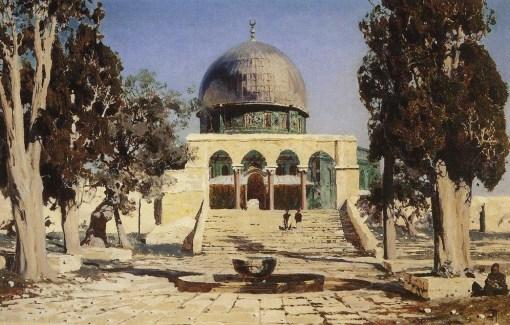 Vasili Dimitrievich Polenov (1844 - 1927) - Haram Ash-Sharif - 1882