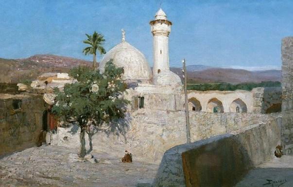 Vasili Dimitrievich Polenov (1844 - 1927) - La mosquée de Jénine - 1903