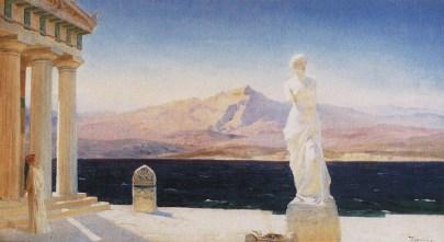 Vasili Dimitrievich Polenov (1844 - 1927) - Les fantômes d'Hellas - 1905