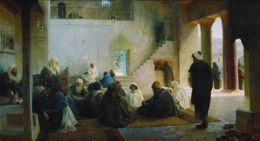 Vasili Dimitrievich Polenov (1844 - 1927) - Les professeurs - 1896