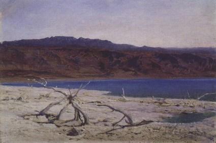 Vasili Dimitrievich Polenov (1844 - 1927) - Mer morte - 1882