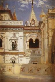Vasili Dimitrievich Polenov (1844 - 1927) - Palais des Térems à Moscou - 1877