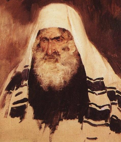 Vasili Dimitrievich Polenov (1844 - 1927) - Portrait de vieil homme juif - 1895