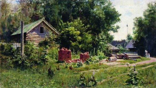 Vasili Dimitrievich Polenov (1844 - 1927) - Un jardin - 1881