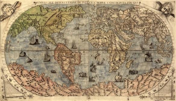 Vniversale descrittione di tvtta la terra conoscivta fin qvi - 1565
