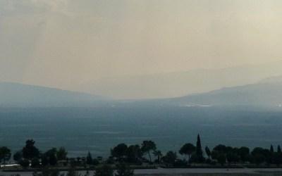 Dans la vapeur blanche des jours sans vent (Carnet de voyage en Turquie – 7 août) : Pamukkale, le château de coton et le martyrium de l'apôtre Philippe, Hiérapolis