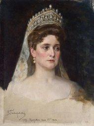 Portrait de la tsarine Alexandra Fyodorovna